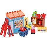 BIG Spielwarenfabrik Big 800057109 - PlayBIG Bloxx Peppa Pig Mr. Fox's Shop
