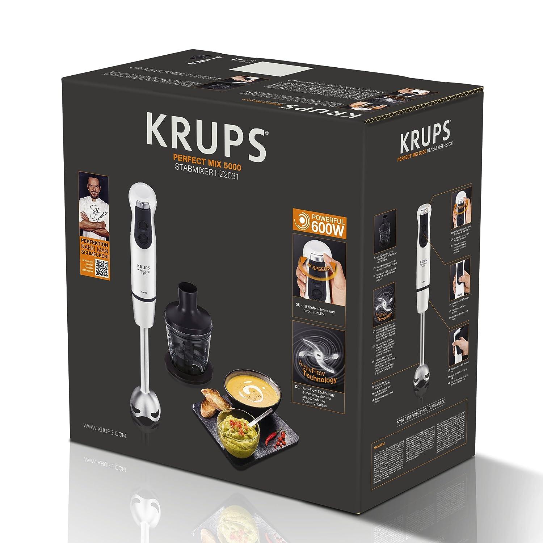 Krups Perfect Mix 5000 Plus Hand mixer 0.8L 600W Gris, Color ...