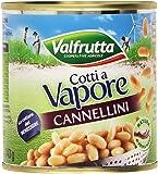 Valfrutta - Cannellini, Cotti A Vapore - 4 confezioni da 3 pezzi da 150 g [12 pezzi, 1800 g]