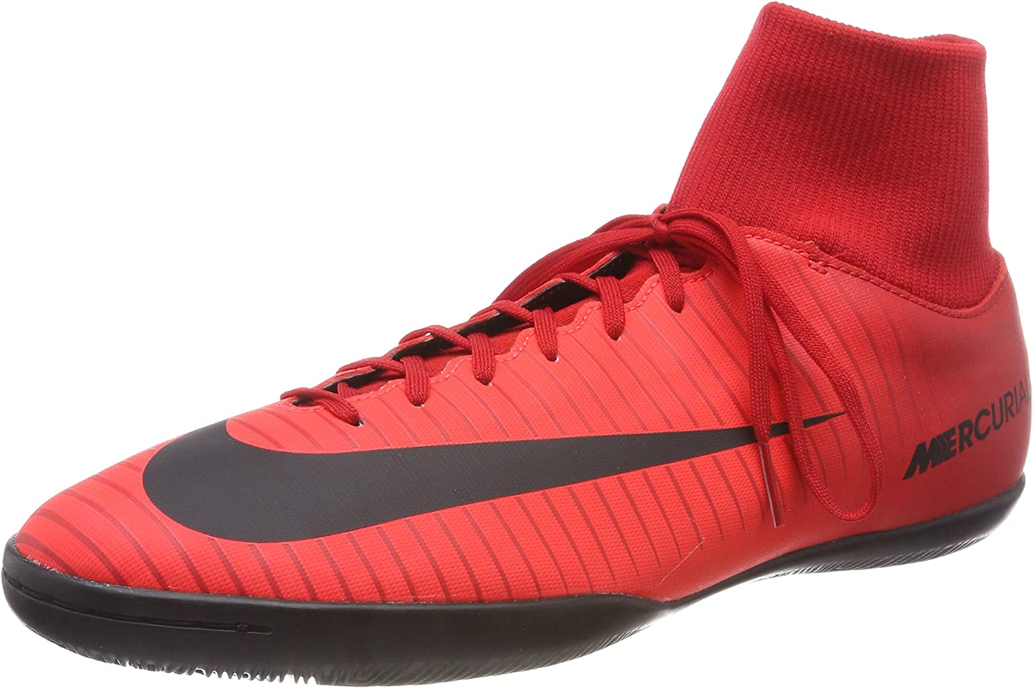 US, University Red//Black M 10.5 D Nike Mens Mercurial Victory VI Dyanamic Fit IC Indoor Soccer Shoes