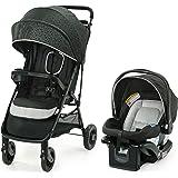Graco NimbleLite Travel System | Includes Lightweight Stroller and SnugRide 35 Lite Infant Car Seat, Parent Storage, Compact