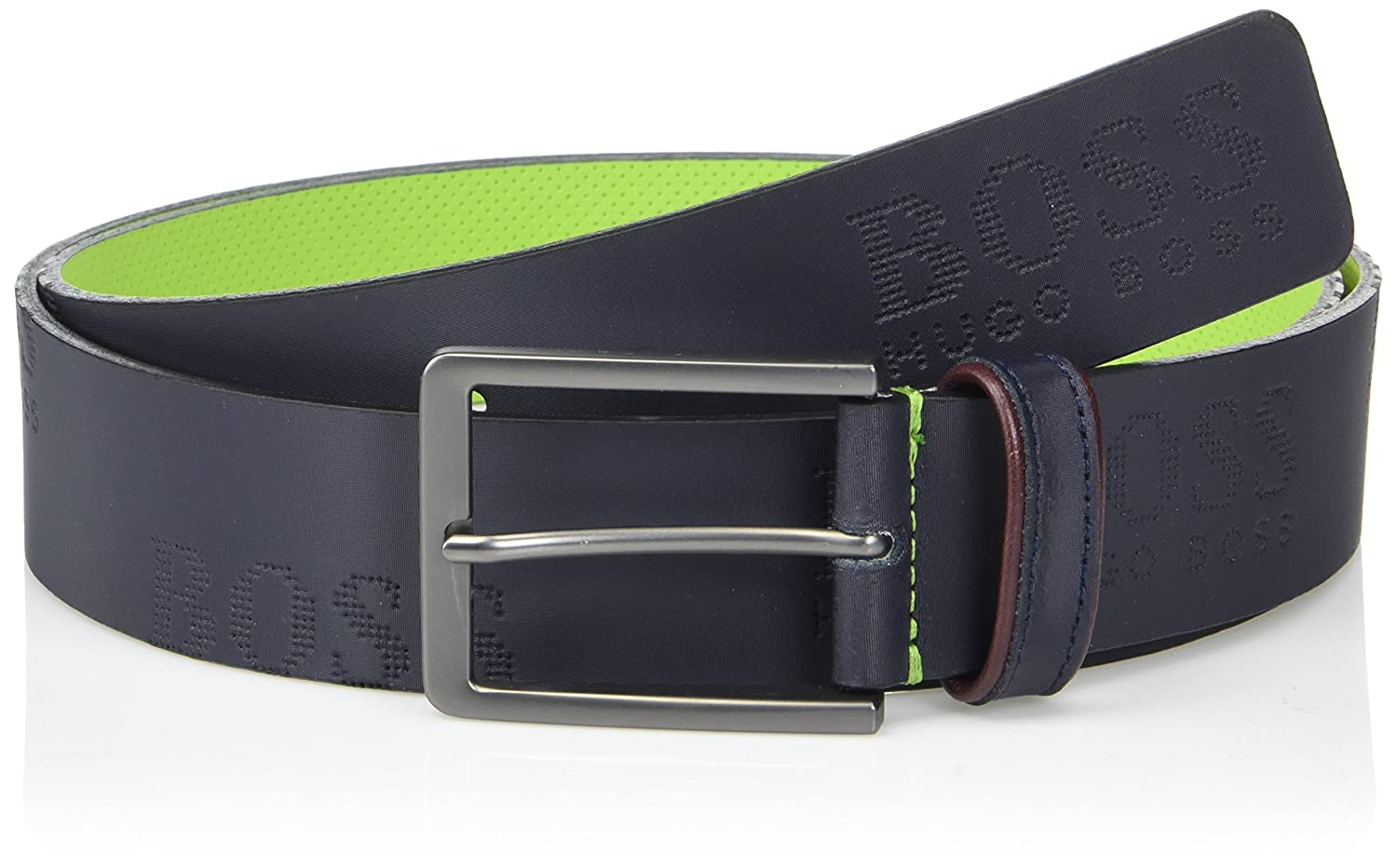 Hugo Boss Men's Millowo Logo Leather Belt 50332156