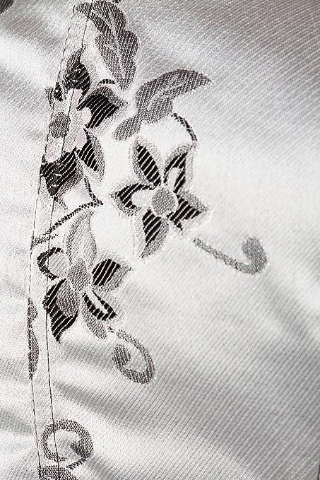 schwarz Schürze von DIRNDLINE Dessous silber Premium Brokat-Dirndl inkl