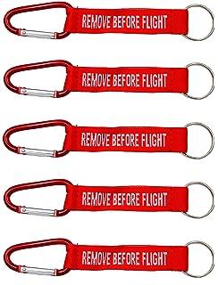 SET 6 llavero de bordado surtido - REMOVE BEFORE FLIGHT & Co ...