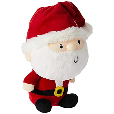 "GUND Jolly Santa Stuffed Plush, 7"": Toys & Games"