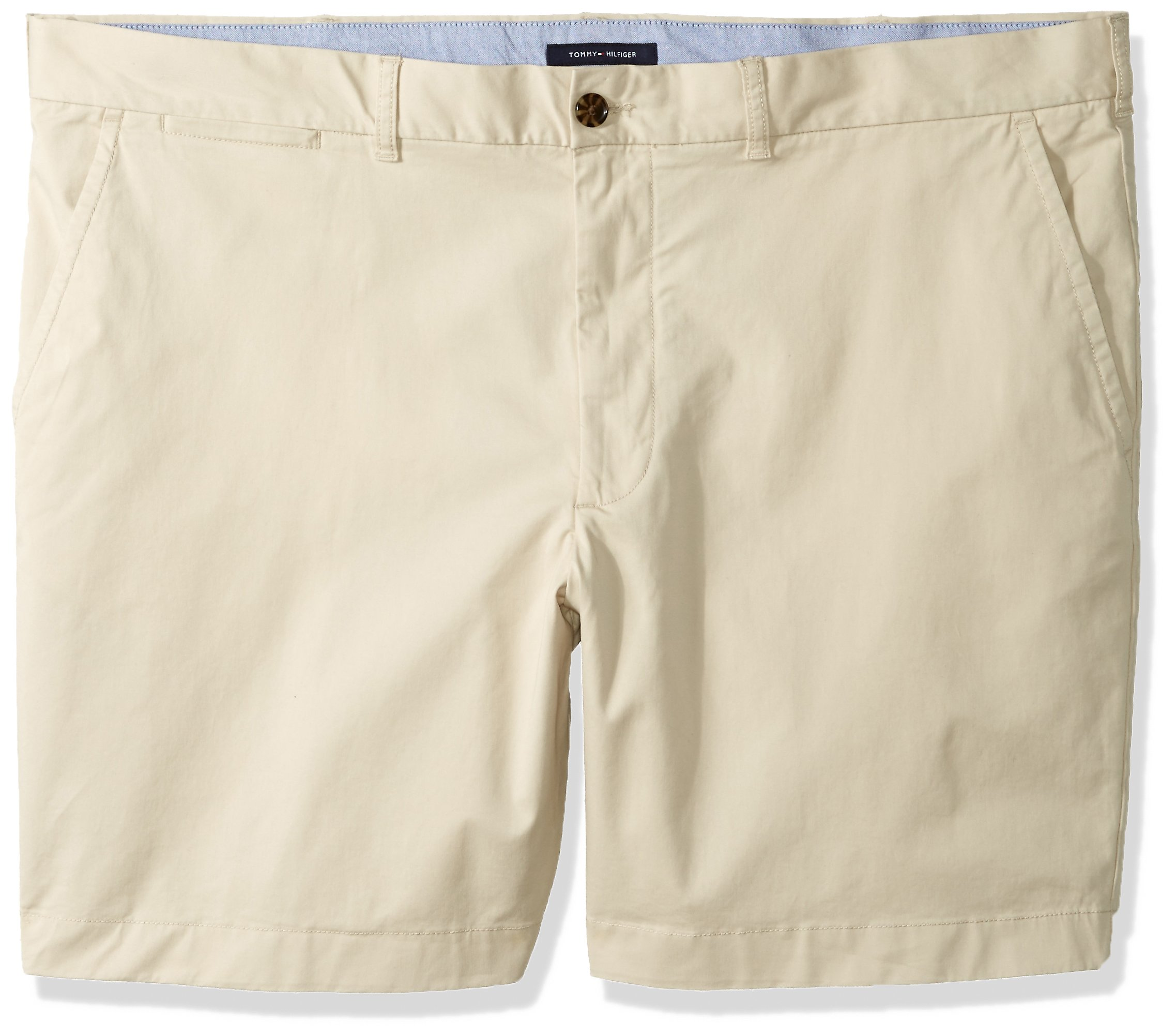 335368d6 Galleon - Tommy Hilfiger Men's Big And Tall Classic Fit Chino Shorts, Sand  Khaki, 2R, 48