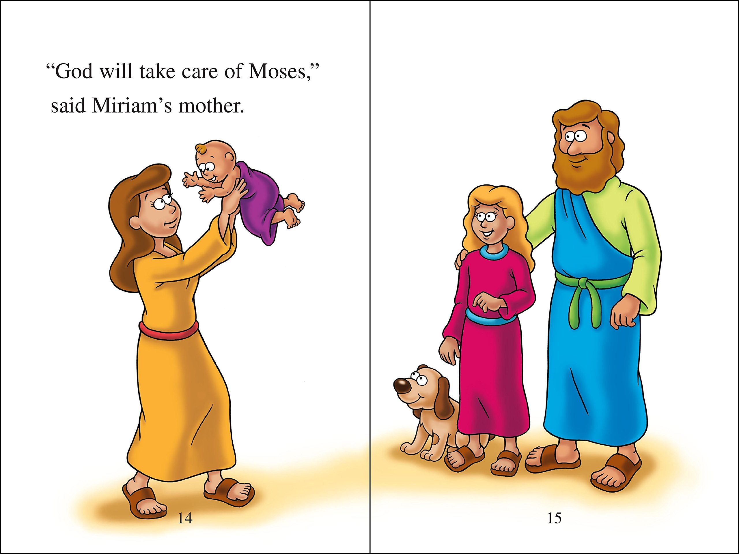 the beginner u0027s bible baby moses and the princess i can read