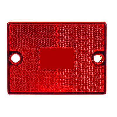 Optronics A36RB Marker/Clearance Light Lens, Red: Automotive