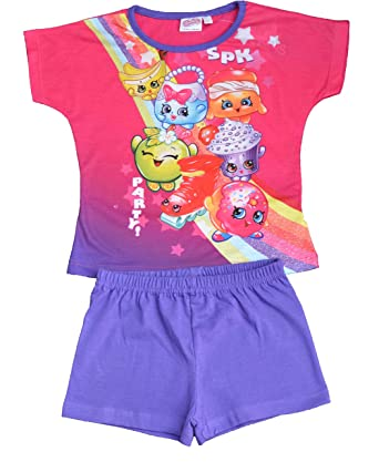Shopkins Short Pyjamas Ages 4-5 to 9-10 Years