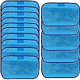 Logobeing Trapos de Fregar, 15Pcs Paños HúMedos para Irobot Braava 380 380T 320 Mint 4200 4205 Color Azul (Azul)