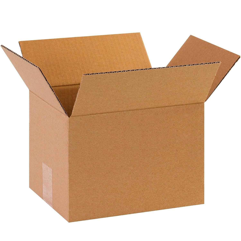 Kraft BOX USA B1087 Corrugated Boxes Renewed Pack of 25 10L x 8W x 7H