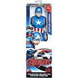Avengers - Captain America Titan Hero (Personaggio 30cm, Action Figure), C0757ES0