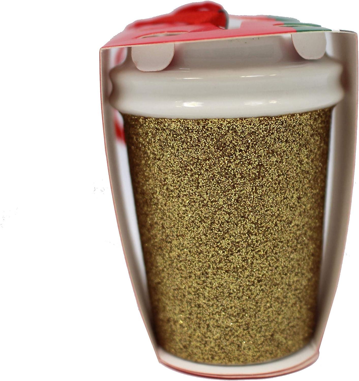 Starbucks 2018 Limited Ceramic Tote Holiday Christmas Tree Ornament
