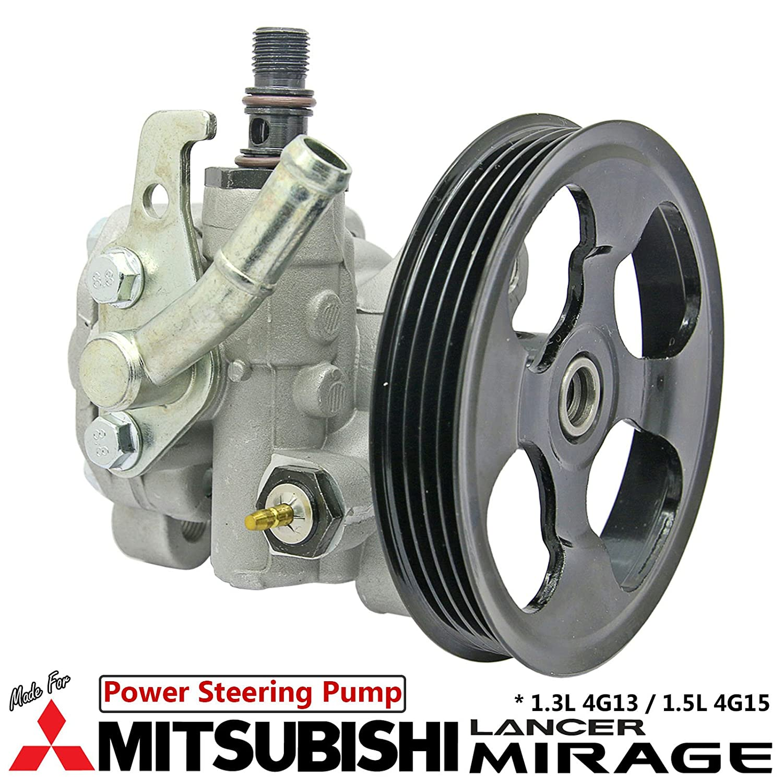 Amazon.com: Power Steering Pump Fit Mitsubishi Lancer Mirage CA1A CA2A CB1A  CB2A 1.3L 1.5L 4G13 4G15: Automotive