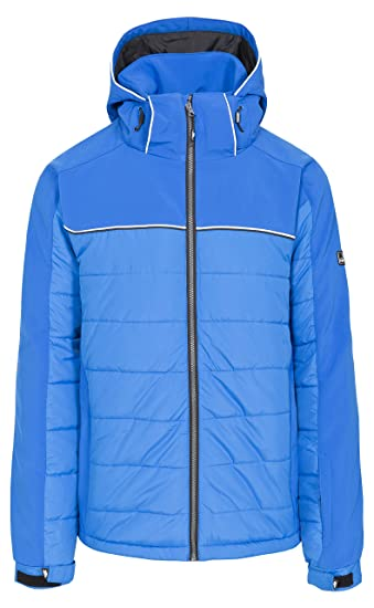 31149401a506 Trespass Drafted Mens Windproof Ski Jacket Hooded Snowboard Winter ...