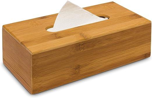 Cuadrado de madera Caja de Pañuelos Servilleta dispensador de papel higiénico titular organizador de almacenamiento de información