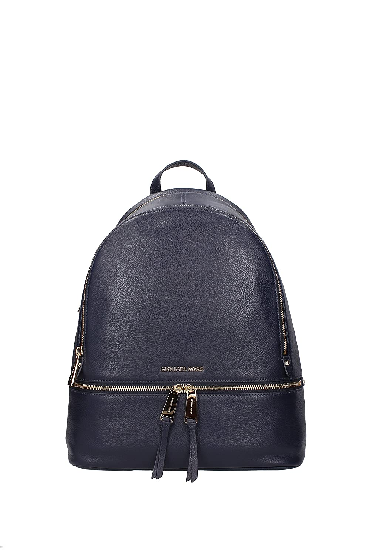 98fcb56f31bc Amazon.com: Michael Kors Women's Large Rhea Zip Leather Leather Backpack -  Admiral: Michael Kors: Shoes