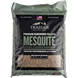 Traeger Grills PEL305 Mesquite 100% All-Natural Hardwood Pellets Grill, Smoke, Bake, Roast, Braise and BBQ, 20 lb. Bag