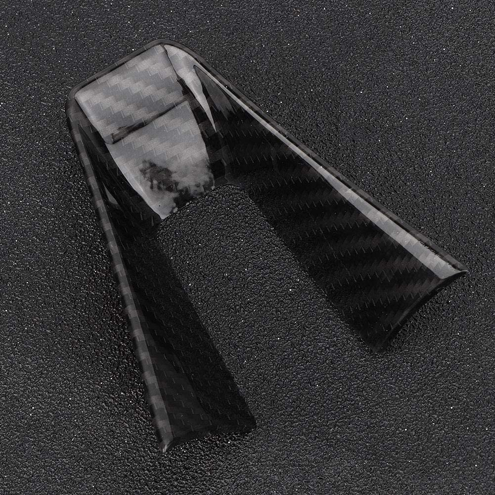 KIMISS Car Carbon Style Linkslenker Lenkraddekoration Rahmenverkleidung f/ür 17-19