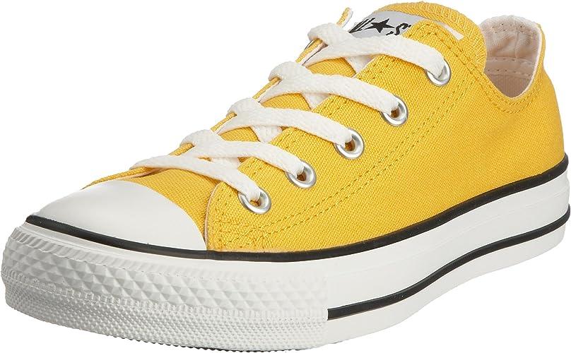 basket jaune converse