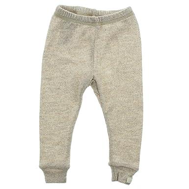 30b6f491f2d8 Amazon.com  100% Merino Wool Baby Toddler Pants - Natural Sand ...
