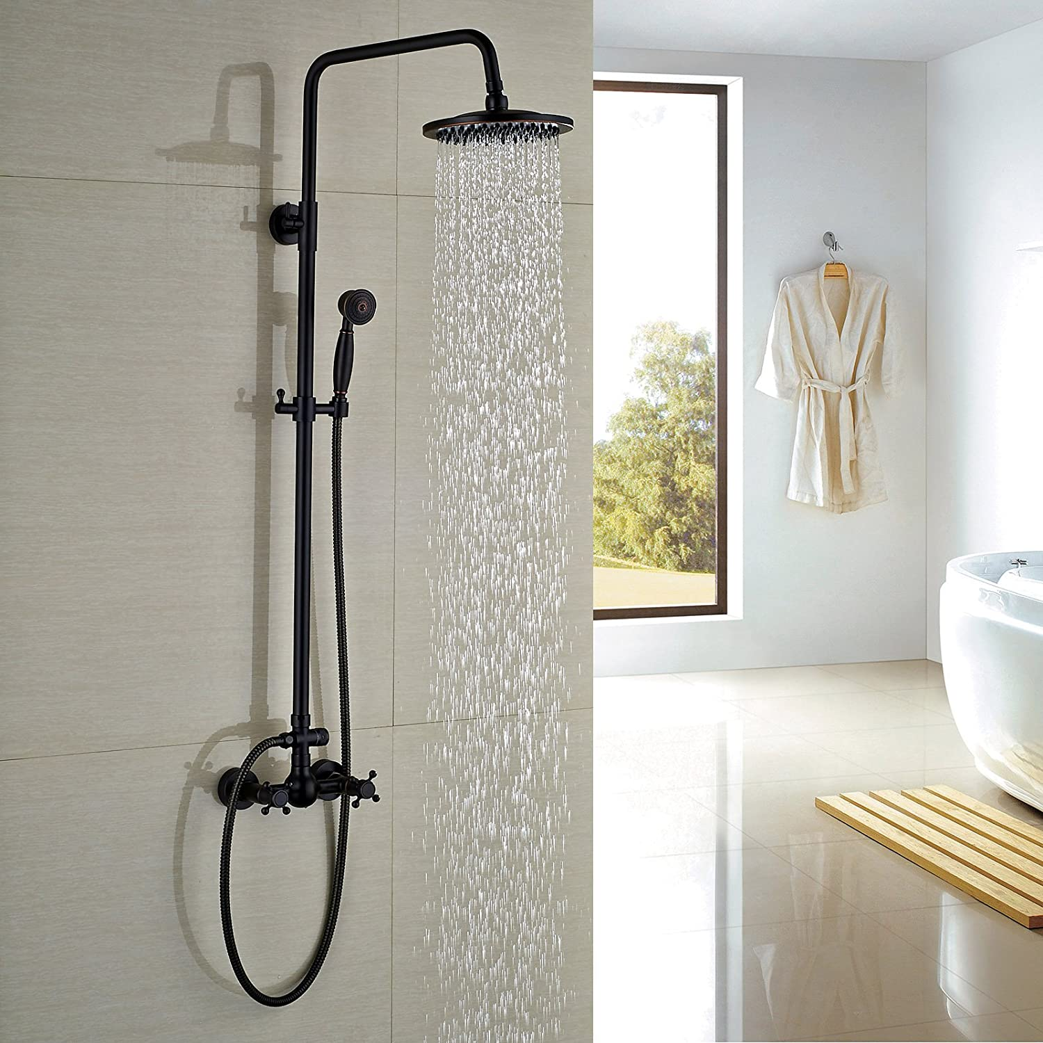 Rozin Bathroom Shower Faucet Set 8\