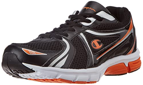 702857a0c Champion Men s Black and Orange Running Shoes - 6 UK (AF102-3)  Buy ...