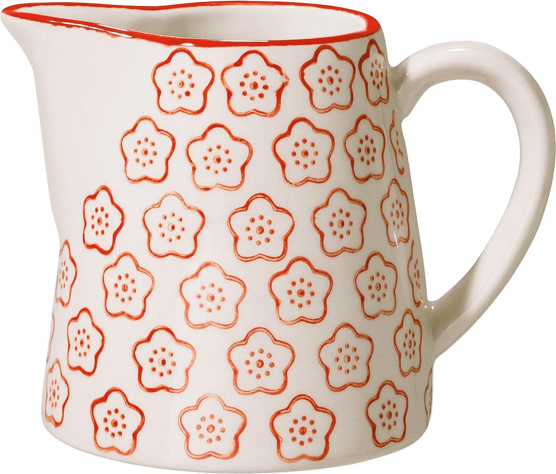 C/éramique Pot de lait Rouge Bloomingville