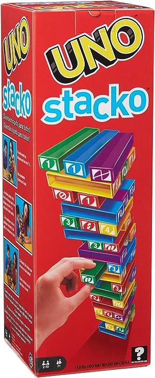 Mattel - Juego uno stacko: Amazon.es: Juguetes y juegos