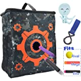 Target Pouch Storage Practice Carry Bag with 2PCS Hooks for Nerf N-strike Elite / Mega / Rival Series Blaster