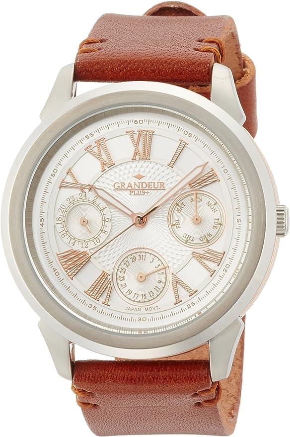 [グランドール プラス] 腕時計 GRP004W1 ブラウン