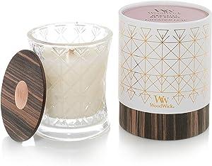 Woodwick Aura Lavender Leaf Scented Wood Wick 9.7 oz. Glass Jar candles