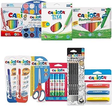 CARIOCA SET VUELTA AL COLE| 53220 - Kit Productos para Colorear ...