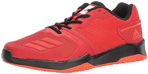 wholesale dealer d70de 5e981 Adidas Mens Gym Warrior 2 Cross-Trainer Shoes, ScarletBlack, (6.5
