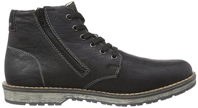 Rieker 39232, Bottes Classiques Homme - Noir (schwarz/schwarz / 01), 46 EU:  Amazon.fr: Chaussures et Sacs