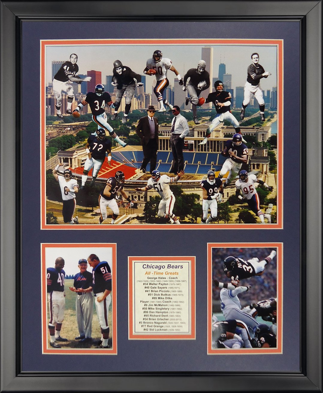 16 x 20 Legends Never Die Tom Landry Framed Photo Collage