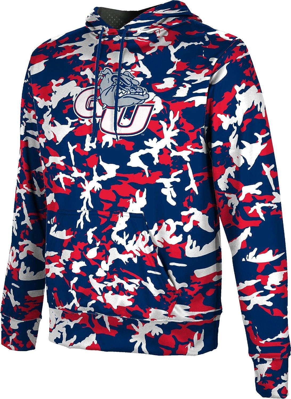 Camo School Spirit Sweatshirt ProSphere Gonzaga University Girls Zipper Hoodie