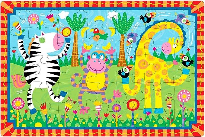 ALEX Toys Little Hands Giant Puzzle Juggling Jungle 1458J