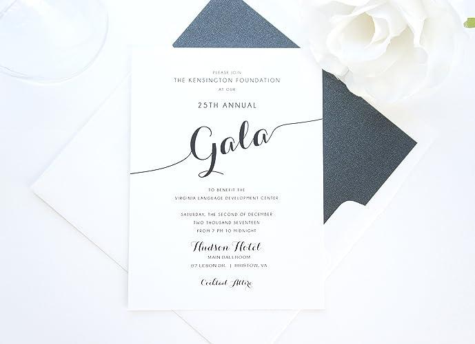 amazon com company gala invitations sample set handmade