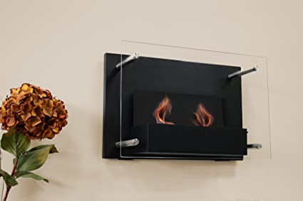 Paramount Gel Fuel Wall Mount Fireplace Amazonca Home Kitchen