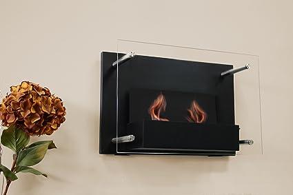 paramount gel fuel wall mount fireplace amazon ca home kitchen rh amazon ca