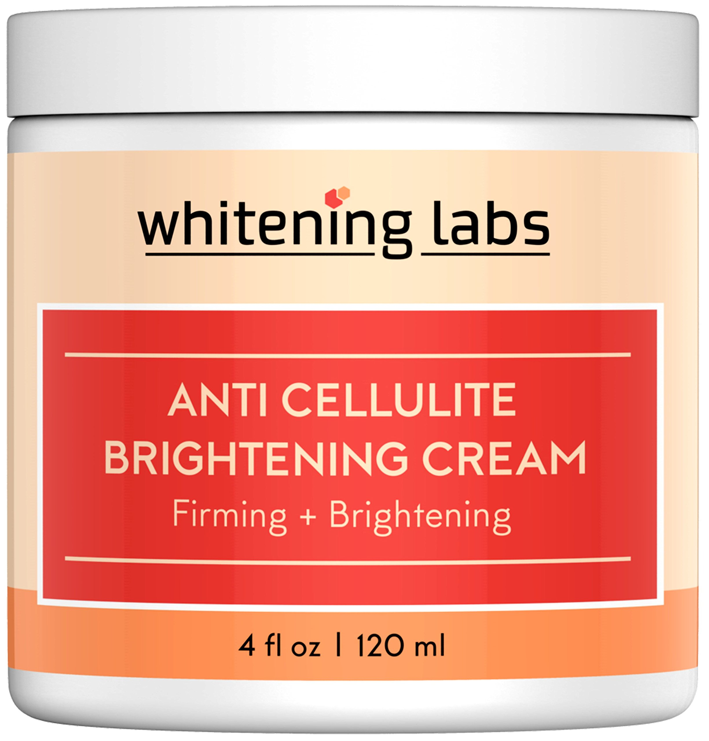 Skin Whitening Cream With Anti Cellulite Firming Effect. Skin Tightening Cream Contains Hyaluronic Acid Glycolic Acid Green Tea 4 ounce