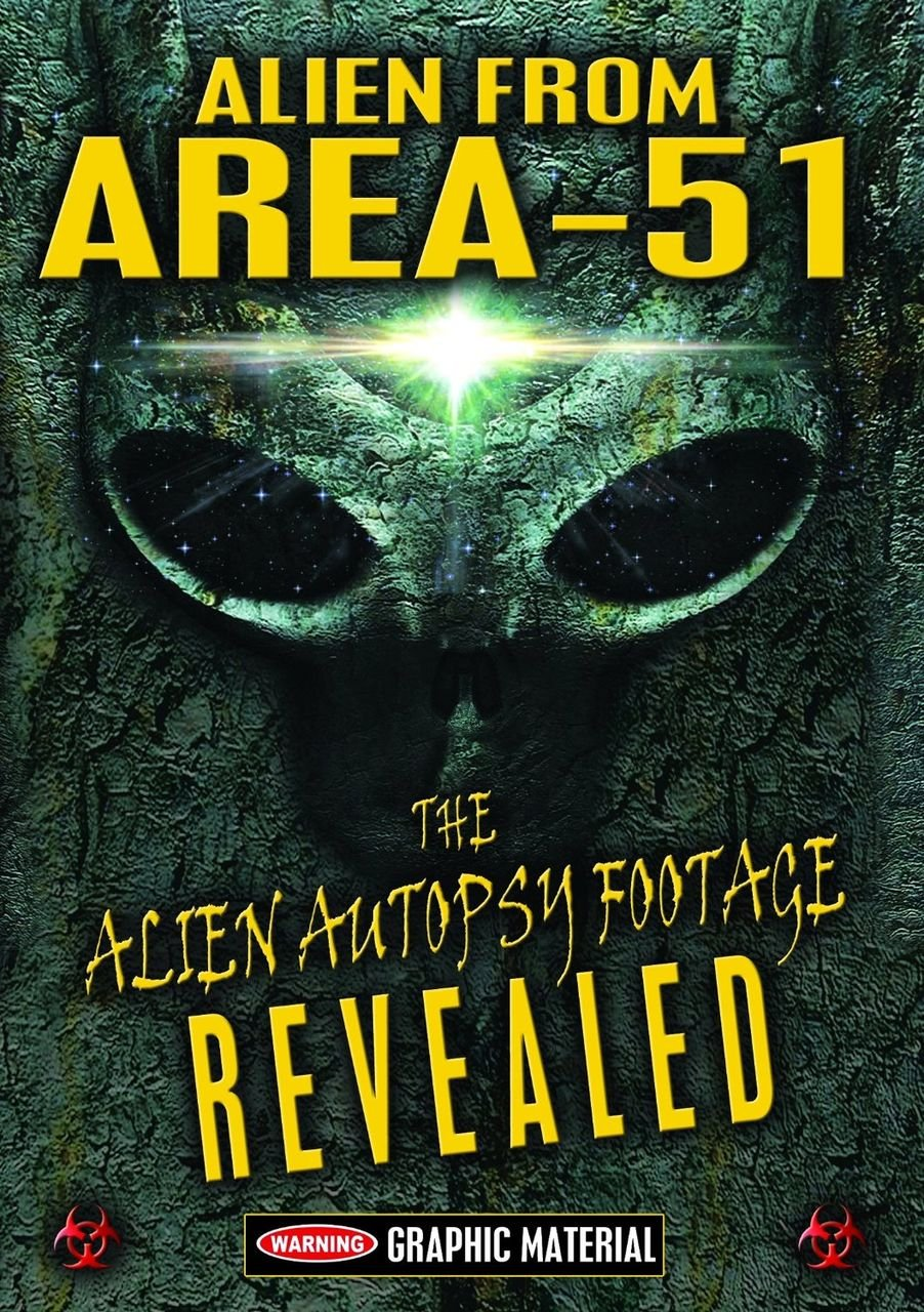 DVD : Gary Shoefield - Alien From Area 51: Alien Autopsy Footage Revealed (Amaray Case)