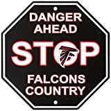 "NFL Atlanta Falcons Stop Sign, 12"" x 12"
