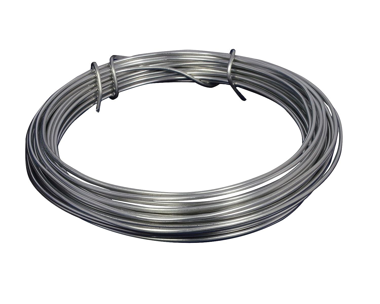 Corderie Italiane 006002864 Filo Alluminio, Argento, 2 mm, 12 m Filtrex srl