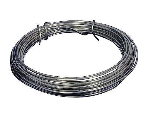 3 opinioni per Corderie Italiane 006002864 Filo Alluminio, Argento, 2 mm, 12 m