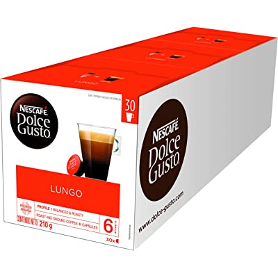 Nescafé Dolce Gusto Magnum Café Lungo - Cápsulas de Café - 3 x 30 - 90 Cápsulas
