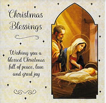 religious christmas cards box of 12 christian xmas cards - Religious Christmas Cards