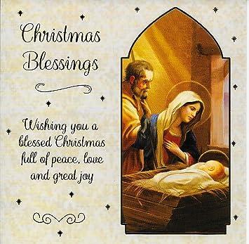 religious christmas cards box of 12 christian xmas cards amazon