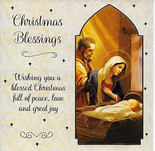 Personalized Christian Christmas Cards